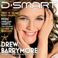 L'actrice Drew Barrymore en couverture du magazine turque  D-Smart  d'avril 2011.