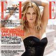 L'actrice Drew Barrymore en couverture du magazine  Elle France  d'août 2010.