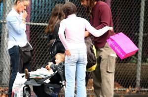 Yannick Noah en famille à New York
