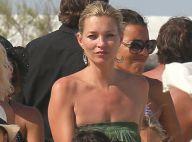 Kate Moss : Mariée, elle joue à la nounou avec délice à Saint Tropez
