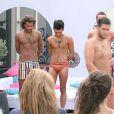 Les garçons très sexy en maillots de bain lors du défilé pour l'élection de Mister Secret Story 5 dans Secret Story 5
