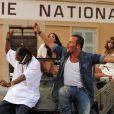 Tournage du nouveau clip de Jean-Roch et Snoop Dogg, le 3 août à Saint-Tropez
