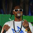 Snoop Dogg en concert au VIP ROOM de Saint-Tropez, aux côtés de Jean-Roch, le 3 août 2011