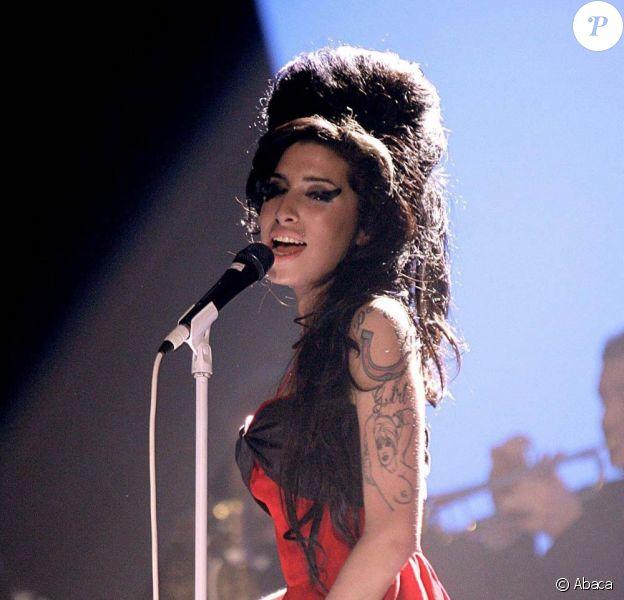 Amy Winehouse, à Londres, le 14 février 2007.
