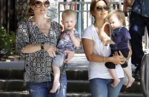 Rebecca Gayheart, enceinte : la maman modèle commence à fatiguer