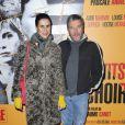 Philippe Starck et sa femme Jasmine lors de l'avant-première du film Les Petits Mouchoirs en octobre 2010