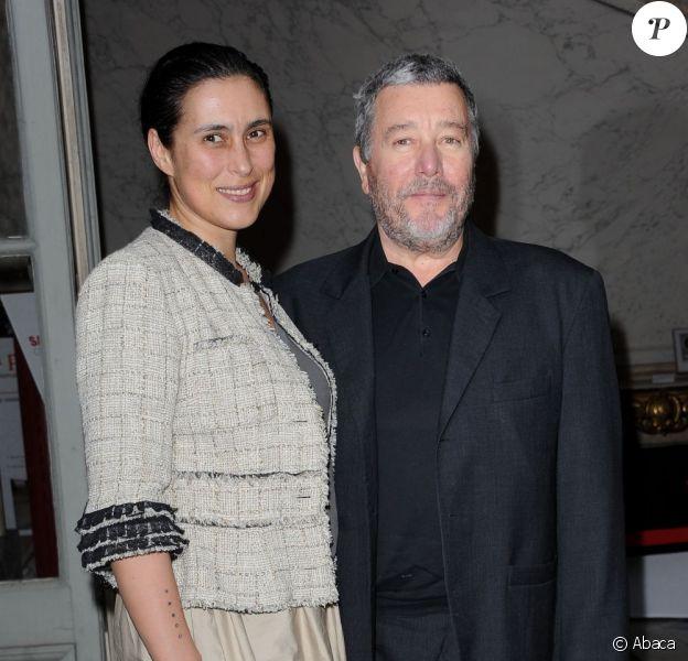 Philippe Starck et sa femme Jasmine en juin 2011