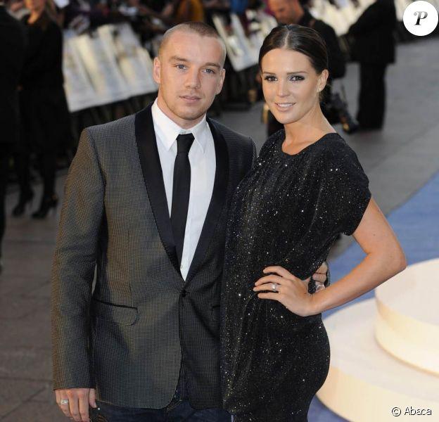 Danielle Lloyd et Jamie O'Hara en septembre 2010.