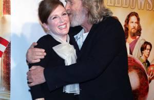 Julianne Moore : Jeff Bridges, au sommet de la bonne humeur, ne lui résiste pas