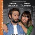 Axelle Laffont et Vincent Desagnat sint à l'affiche du spectacle Fume cette cigarette, dès septembre 2011, au Théâtre des Mathurins, à Paris.