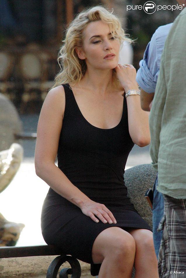 Kate Winslet lors d'un shooting photo en juillet 2010
