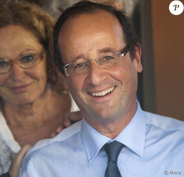 François Hollande à Nice en juillet 2011