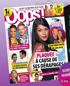 Le magazine  Oops! , en kiosques vendredi 26 août 2011.