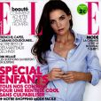 Katie Holmes en couverture du Elle France