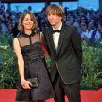 Sofia Coppola et Thomas Mars posent lors du 67ème festival de Venise en septembre 2010