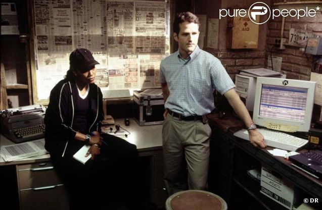 Jim True-Frost et Sonja Sohn dans  The Wire  (2002/2008)