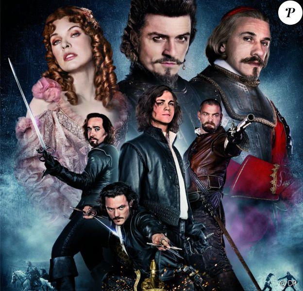 L'affiche du film Les Trois Mousquetaires