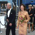 Le couple royal de Suède arrive pour la remise du Polar Music Prize 2011, qui a récompensé, le 30 août à Stockholm, Patti Smith et The Kronos Quartet.