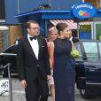 La princesse Victoria et le prince Daniel de Suède arrivent pour la remise du Polar Music Prize 2011, qui a récompensé, le 30 août à Stockholm, Patti Smith et The Kronos Quartet.