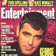 """L'acteur George Clooney, en couverture de  Entertainment Weekly . 26 janvier 1996. """