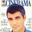 """""""George Clooney, en couverture du magazine espagnol  Cinerama . Octobre 1998. """""""