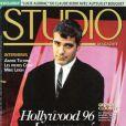 """""""L'acteur George Clooney en couverture de Studio Magazine pour son numéro de septembre 1996. """""""