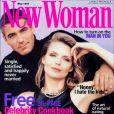 """George Clooney et Michelle Pfeiffer posaient en mai 1997 en couverture du magazine  New Woman . """