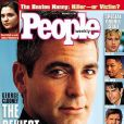 """L'homme le plus sexy, devant Brad Pitt, Will Smith et Tom Cruise ? George Clooney a souvent remporté ce titre honorifique, comme en novembre 1997.  People Weekly . """