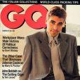 """""""Le très classe George Clooney en couverture de  GQ  de mars 1995. """""""