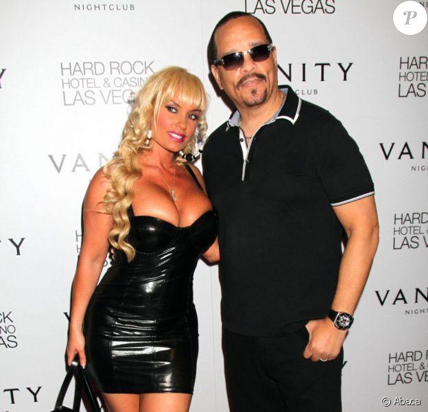 Ice-T et son épouse Coco Austin lors d'une soirée au Vanity Nightclub à Las Vegas le 2 septembre 2011