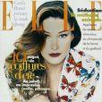 Le mannequin Carla Bruni, en couverture de Elle. 12 Juin 1995.