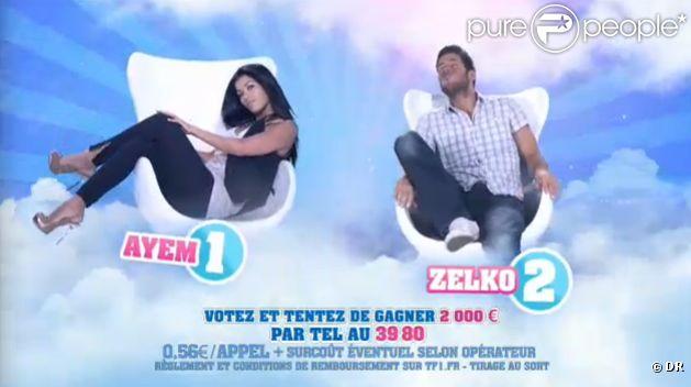Ayem et Zelko sont les deux nominés de la semaine (quotidienne  Secret Story  du mercredi 7 septembre 2011).