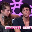 Juliette et Geoffrey dans Secret Story 5, vendredi 9 septembre sur TF1