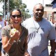 Mike Tyson et sa femme
