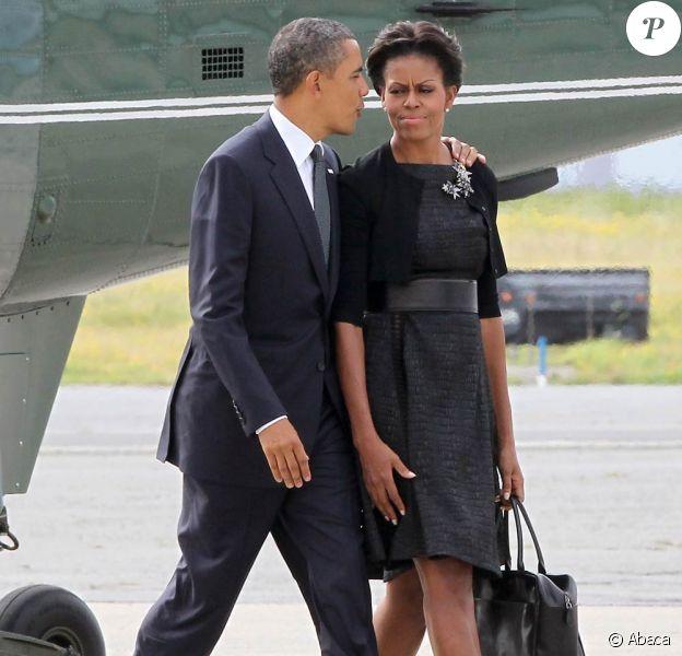 Barack et Michelle Obama s'apprêtent à rejoindre Washington lors de la commémoration, dix ans après, des attentats du 11 septembre 2001.