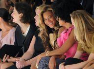 Beyoncé, enceinte, brille lors d'un défilé scintillant en pleine Fashion Week