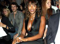 Naomi Campbell dévoile un gros diamant et mieux encore, son décolleté