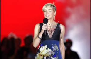 PHOTOS : Sharon Stone version flower power !
