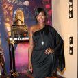 Le mannequin Tolula Adeyemi pour l'inauguration de la nouvelle boutique Cavalli, à Londres, le 17 septembre 2011.