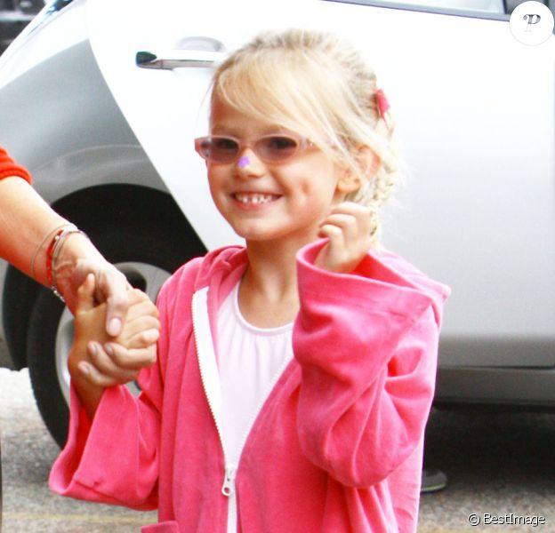 Violet Affleck le 24 septembre 2011