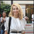 Alexandra Golovanoff à son arrivée au show de Nicolas Ghesquière pour Balenciaga. Fashion Week PAP Printemps/été 2012. Paris, le 29 septembre 2011