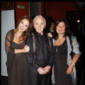 Charles Aznavour : En toute intimité avec les people côté coulisses à l'Olympia