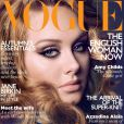 Adele en couverture du  Vogue  anglais, octobre 2011.