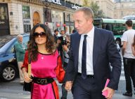 Fashion Week : Salma Hayek divine face à un Paul McCartney papa-poule