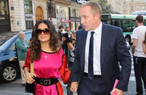 Fashion Week : Salma Hayek divine face à un Paul McCartney papa-poule
