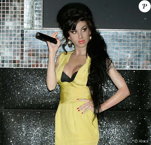 Statue d'Amy Winehouse au musée de Madame Tussauds à Londres, le 3 octobre 2011.