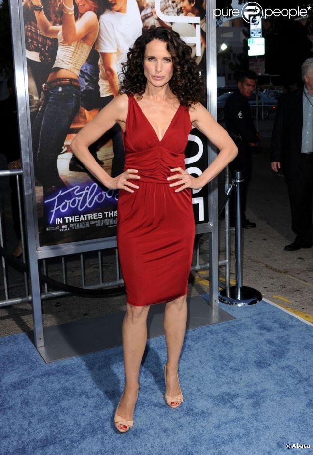 Avant-première Footloose, 3 octobre 2011 à Los Angeles, avec Andie MacDowell