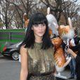 Leigh Lezark  au défilé Chanel