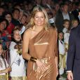La princesse Maxima des Pays-Bas lundi 3 octobre lors de l'inauguration du Festival Brazil à Amsterdam.