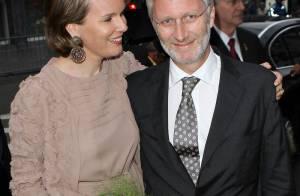 Les royaux belges de sortie, Mathilde et Philippe toujours plus complices